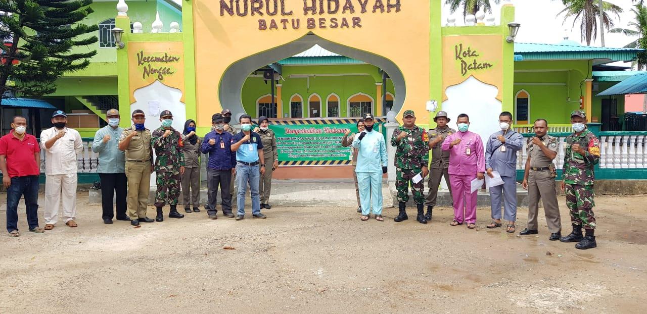 Camat Nongsa dan Jajarannya Bersama TNI - Polri ...