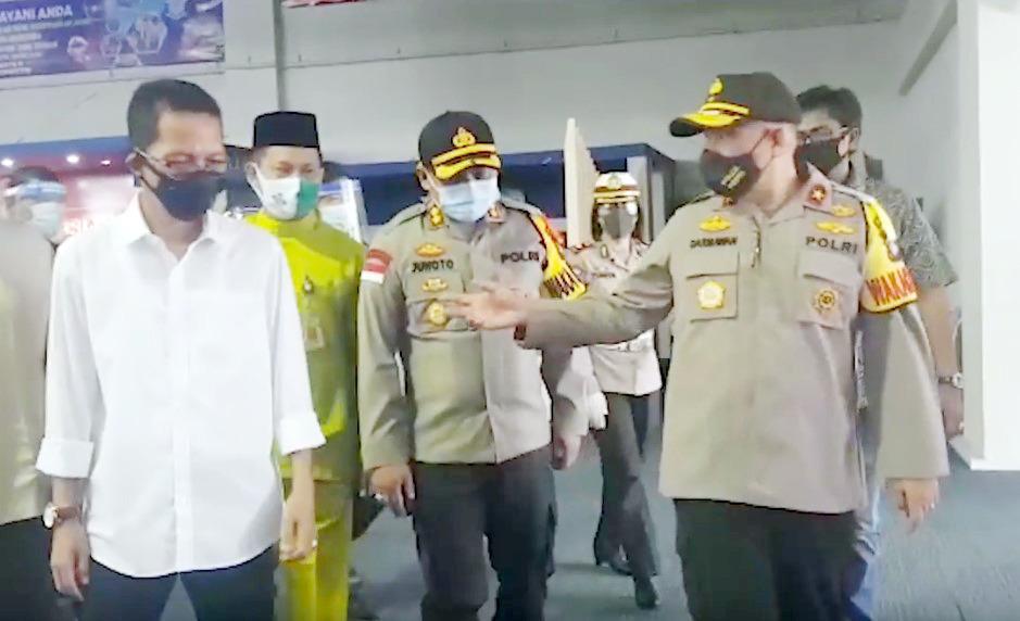 Terima Kunker Wakapolda Kepri, Amsakar Paparkan Kesiapan MPP Kota Batam Jelang New Normal