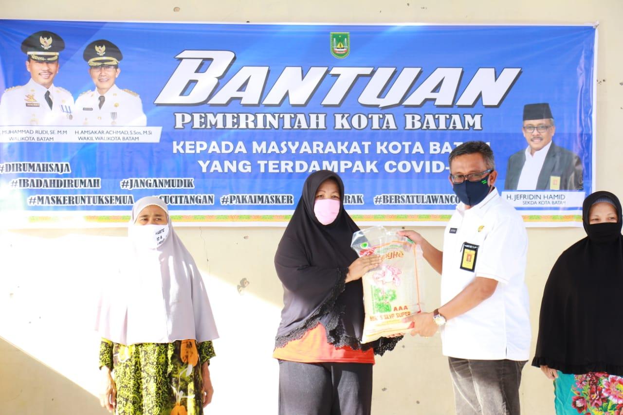 Kegiatan Satgas Penanganan COVID-19 Kecamatan Nongsa, Rabu (03/06/2020)