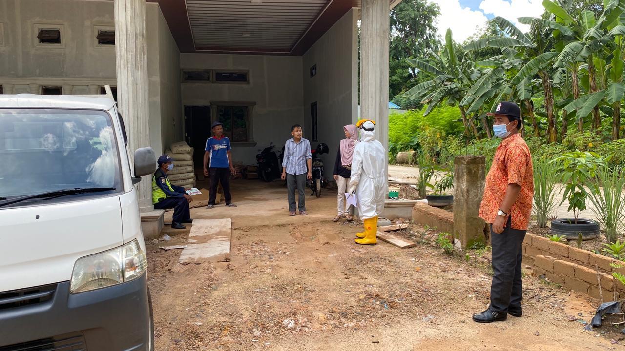 Kegiatan Penyisiran dan Rapid Test Satgas Penanganan COVID-19 Kecamatan Sekupang Bersama Puskesmas Tiban Baru, Kamis (04/06/2020)