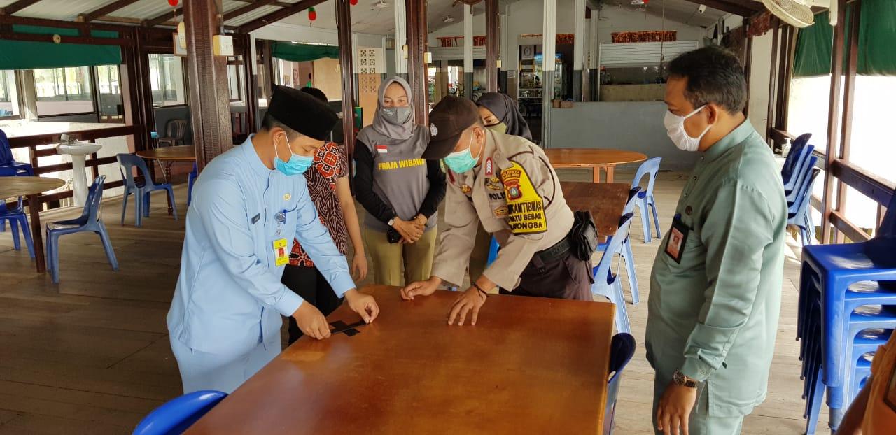 Kegiatan Satgas Penanganan COVID-19 Kecamatan Nongsa, Juat (05/06/2020)
