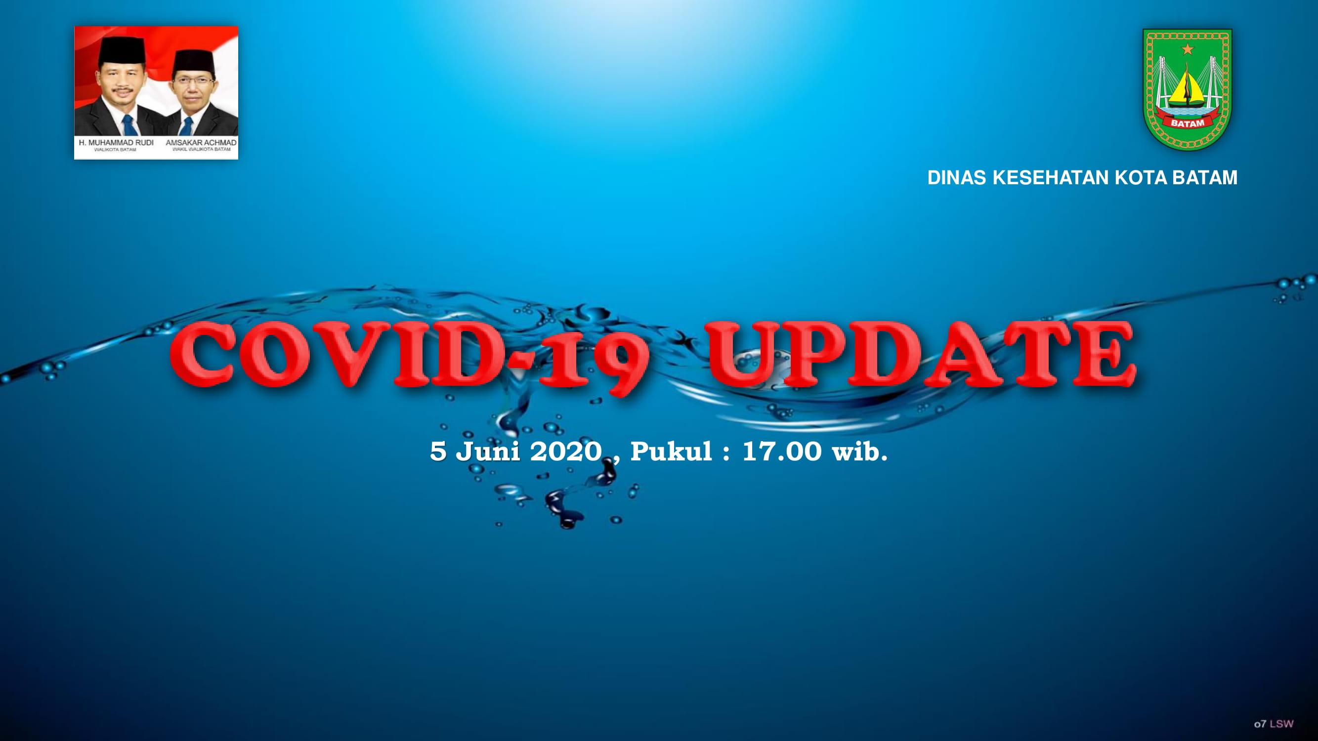 Data Harian: 05 Juni 2020