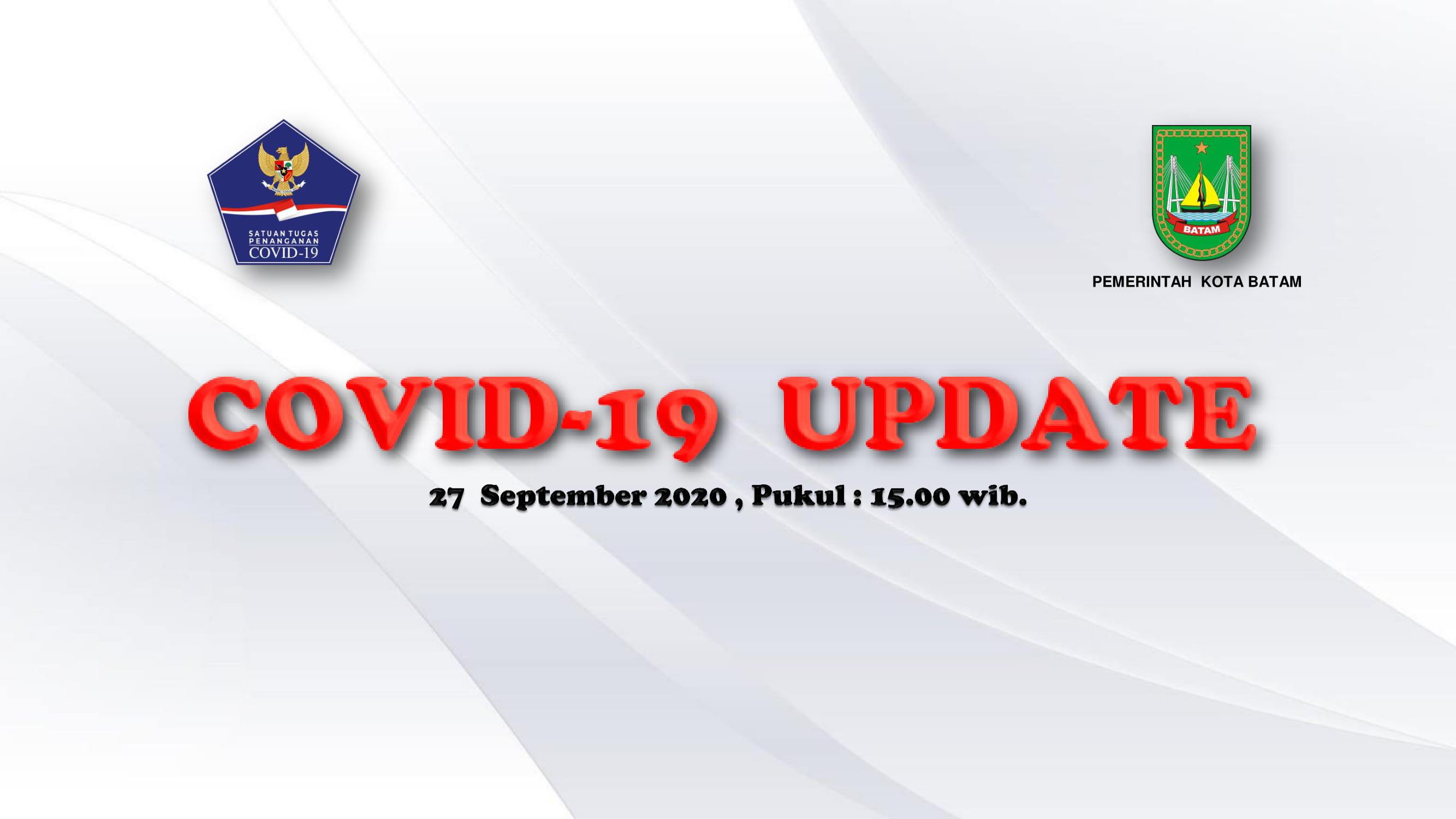 Data Harian: 27 September 2020