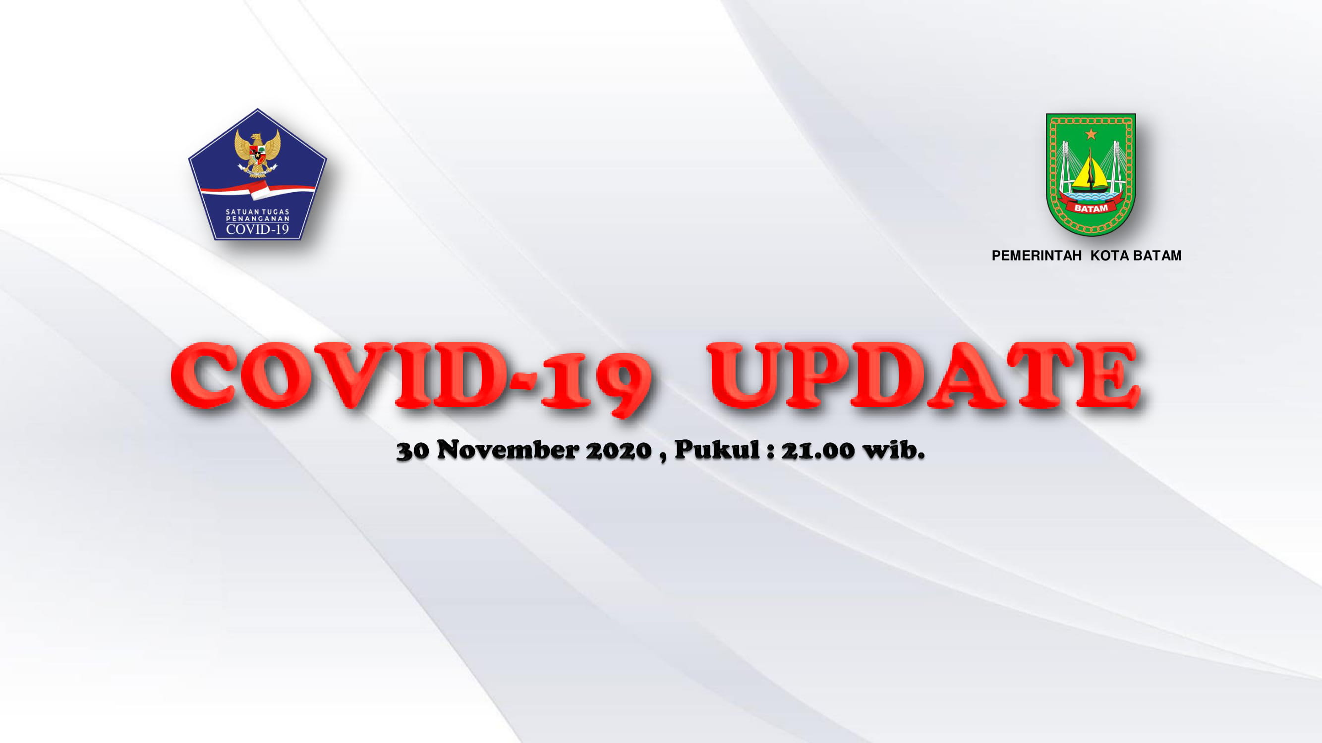 Data Harian: 30 November 2020